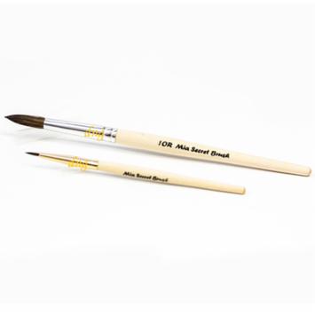 *LAWholesaleStore* Mia Secret Duo Acrylic Brush Set 10 R Round Nail professional 2 Brush NB16