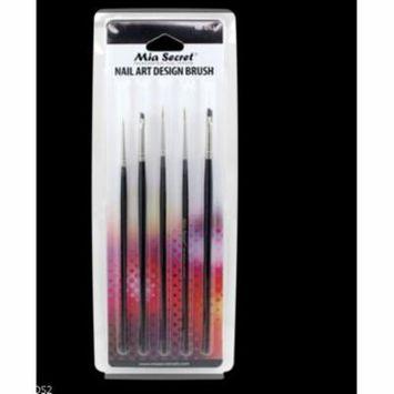 LWS LA Wholesale Store Mia Secret 5 Pcs Nail Art Design Brush Set (NB-DS2)