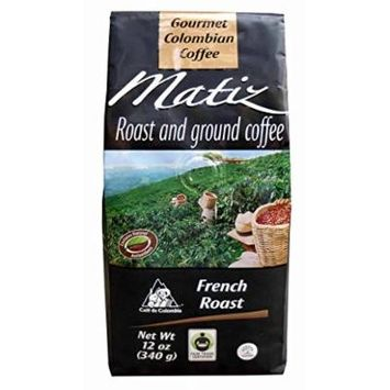 Matiz-Gourmet 100% Colombian Coffee-12 Oz-French Roast