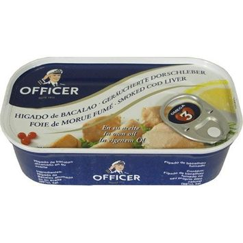 Officer Smoked Cod Liver 4.26 oz