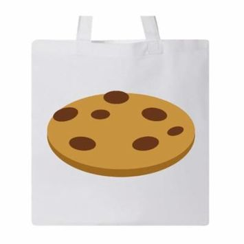 Chocolate Chip Cookie Tote Bag White One Size