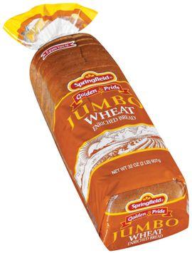Springfield Jumbo Wheat Bread