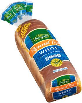 springfield® round top white bread