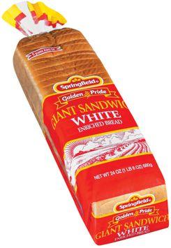 Springfield Giant Sandwich White Bread