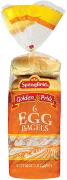 Springfield Egg 6 Ct Bagels