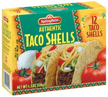 Springfield Authentic 12 Ct Taco Shells