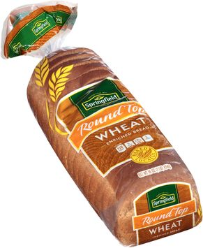 springfield® round top wheat enriched bread