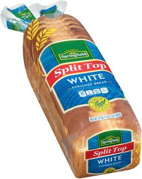 springfield® split top white bread