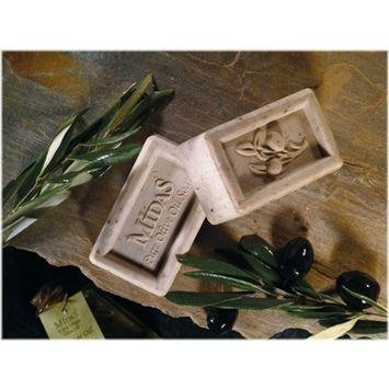 Midas Natural Olive Oil Soap - Olive Leaf 6.35 Oz. (Mediterranean Collection)