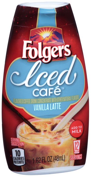 Folgers Iced Cafe™ Vanilla Latte Coffee Drink Concentrate