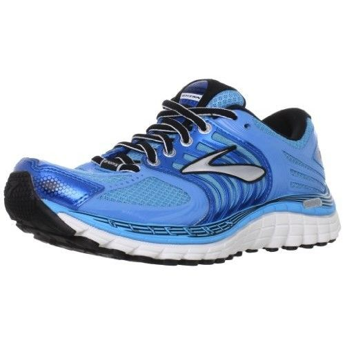 Brooks Women's Glycerin 11 Running Shoes, Color: Aqrs/DrsdnBlu/Blk/Slv/ShckOrng, Size: 5.0