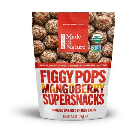 Made in Nature Figgy Pops, Mangoberry, 4.2 Oz
