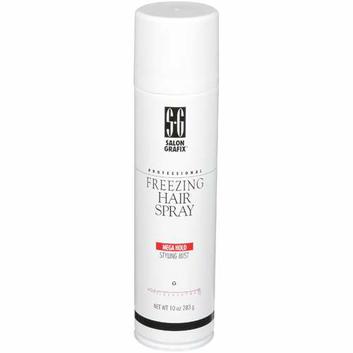 Salon Grafix Professional Freezing Mega Hold Styling Mist Hold 10 Hair Spray