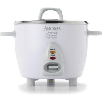 Aroma Housewares ARC-753SG 6 Cup Rice Cooker Ss