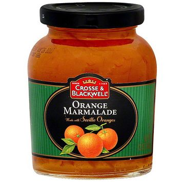 Crosse & Blackwell Orange Marmalade With Seville Oranges, 12 oz (Pack of 6)