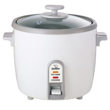Zojirushi Rice Cooker and Steamer White 6 Cup