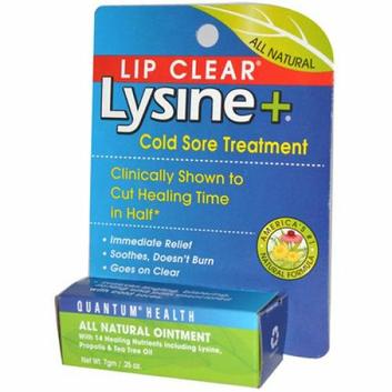 Quantum Research Quantum Lipclear Lysine and Cold Sore Treatment All Natural Ointment 0.25 oz