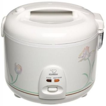 Zojirushi Automatic Rice Cooker and Warmer Wh/Ballerina 10 Cup