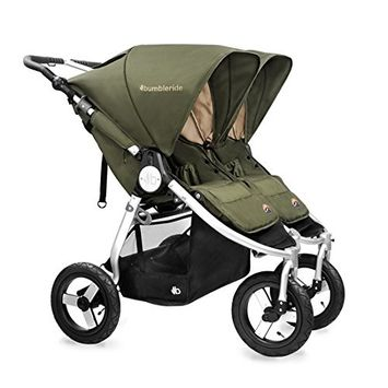 Bumbleride 2016 Indie Twin Stroller (Camp Green)