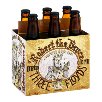 Three Floyds Robert The Bruce Scottish Style Ale - 6 PK