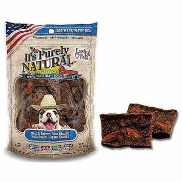 Phillips Feed & Pet Supply Loving Pets So Natural Beef Biscotti Dog Treat