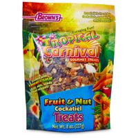 Phillips Feed & Pet Supply Tropical Carnival Fruit and Nut Cockatiel Treat
