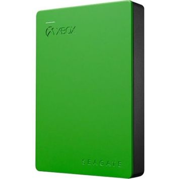 Seagate - 4TB External USB 3.0 Portable Hard Drive For Xbox One - Green
