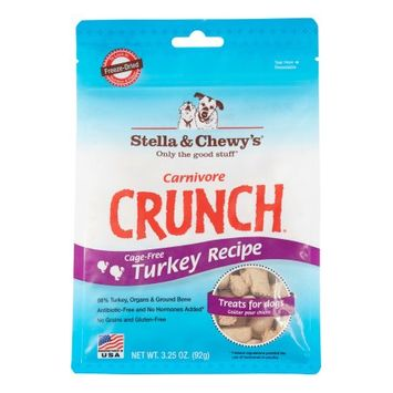 Phillips Feed & Pet Supply Stella and Chewys Crunch Dog Treat Turkey