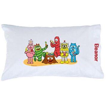Personalized Yo Gabba Gabba! Snack Pillowcase