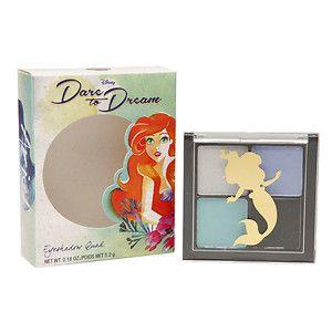 Disney Dare To Dream Ariel Eyeshadow Quad, Sea Darling, .18 oz