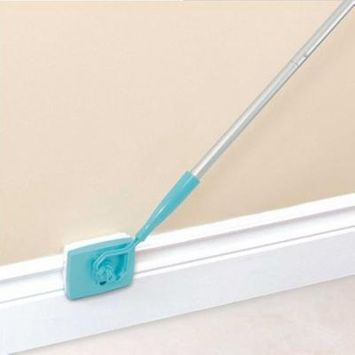 Extendable Microfiber Cleaning Mop Stick Dust Brush Portable Cleaning Supply
