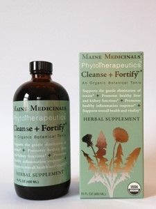 Maine Medicinals Cleanse + Fortify Botanical Tonic 16 oz