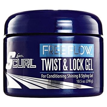 LUSTER'S S CURL FREE FLOW TWIST & LOCK GEL 9.5 OZ