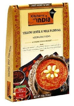 Kitchens Of India Yellow Lentil & Milk Pudding - 6 pk.
