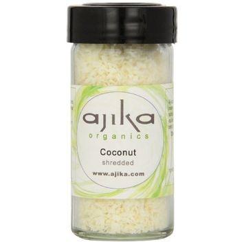 Ajika Organic Coconut, Shredded, 4.3-Ounce