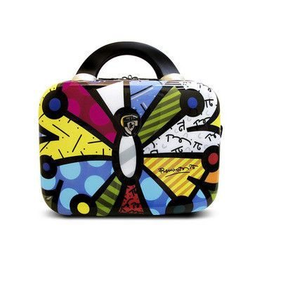 Heys Luggage, Britto Butterfly 7-in. Hardside Cosmetic Case