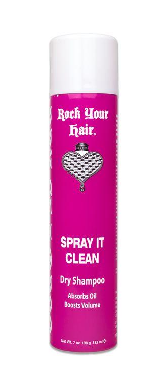 Rock Your Hair Spray It Clean Dry Shampoo
