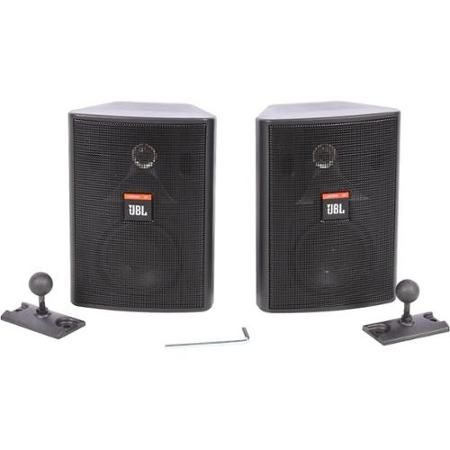 "Jbl Control 23T 2-Way 3-1/2"" Indoor/Outdoor Speaker Pair Black"
