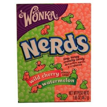 Nerds Watermelon and Wild Cherry Candy, 1.65-Ounce (Pack of 36)