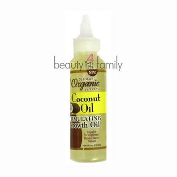 Ultimate Organic Coconut Oil Stimulating Growth Oil 4oz