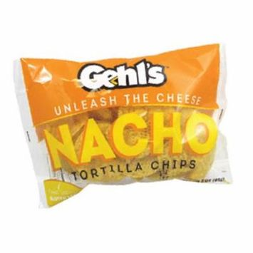 Gehl's Tortilla Chips with Plastic Trays, 3-Ounce