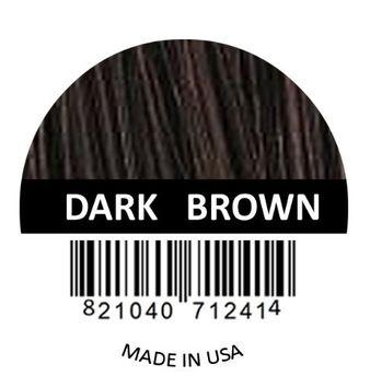 Samson Hair Fibers Hair Building Fibers DARK BROWN Refill kit By Samson Large 25 Grams Made in USA Hair Concealer