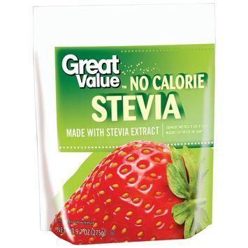 Great Value Granulated No Calorie Stevia, 9.7oz
