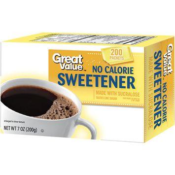 Great Value: No Calorie Sweetener, 7 oz