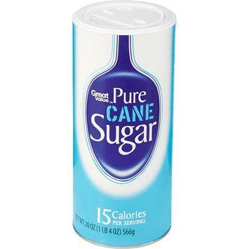 Great Value: Pure Cane Sugar, 20 Oz