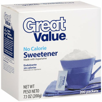 Great Value : No Calorie Sweetener