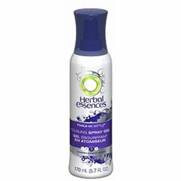 Herbal Essences Tousle Me Softly Tousling Spray Gel, Extra Hold 2, Violet Splash Fragrance, 5.7 oz. (Pack of 9)