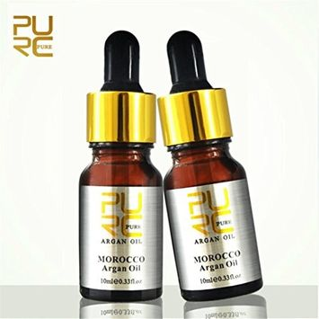 Gallity 2 Pcs Moroccan Pure Argan Oil For Hair Care Hair Oil Hair Scalp Treatment for Dry Scalp