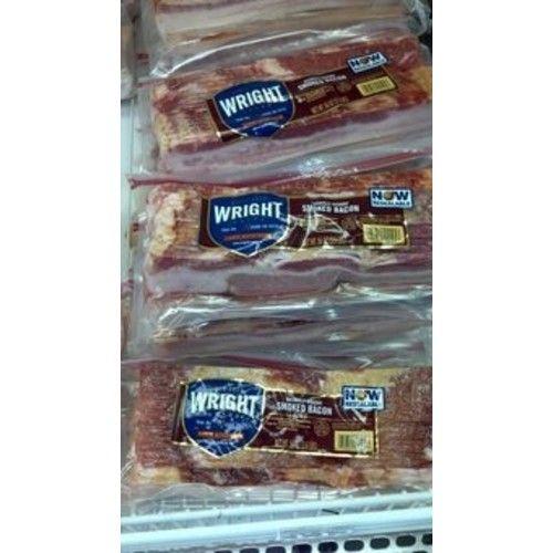 Wright: Hickory Smoked Bacon 2/3.5 Lb Packs
