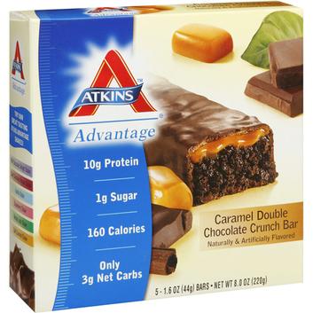 Atkins Advantage Caramel Double Chocolate Crunch Bar